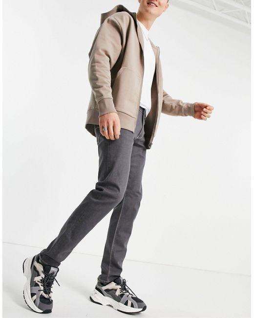 Серые Узкие Джинсы J06-серый Emporio Armani для него, цвет: Gray