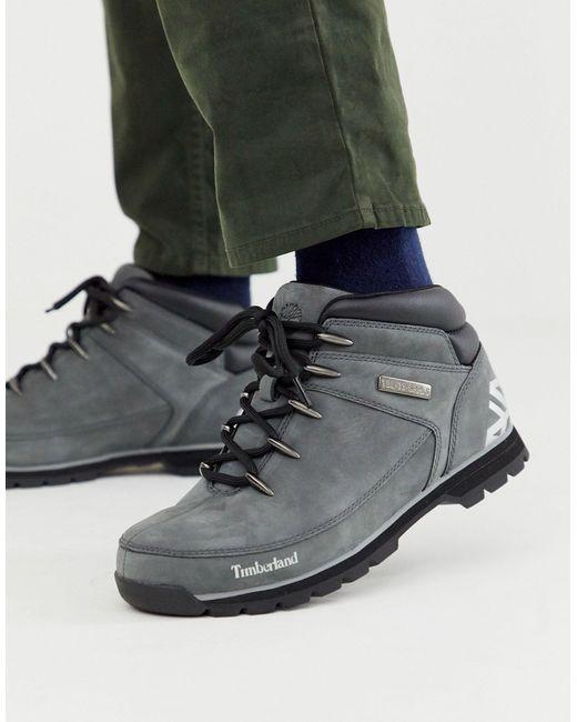 Серые Походные Ботинки Euro Sprint-серый Timberland для него, цвет: Gray