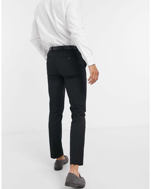 Черные Брюки Скинни Premium-черный Jack & Jones для него, цвет: Black