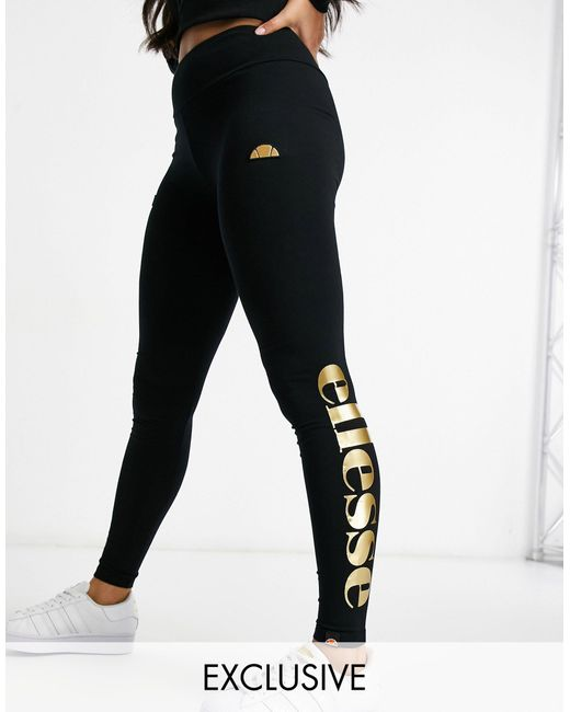 Ellesse Black – Leggings