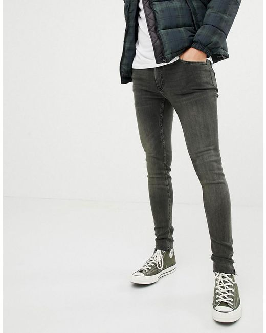 ab1691c097a Cheap Monday - Blue Super Skinny Jeans Tint Overydye for Men - Lyst ...