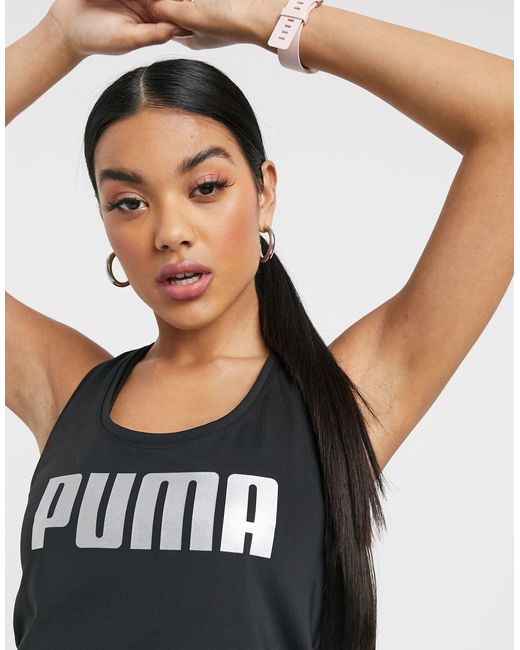 PUMA Black – es Tanktop mit Logo