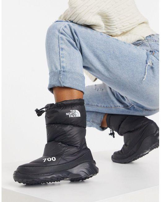 Черные Ботинки 700 Nuptse-черный The North Face, цвет: Black