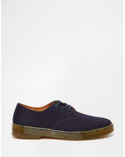 dr martens delray canvas shoes in multicolor for