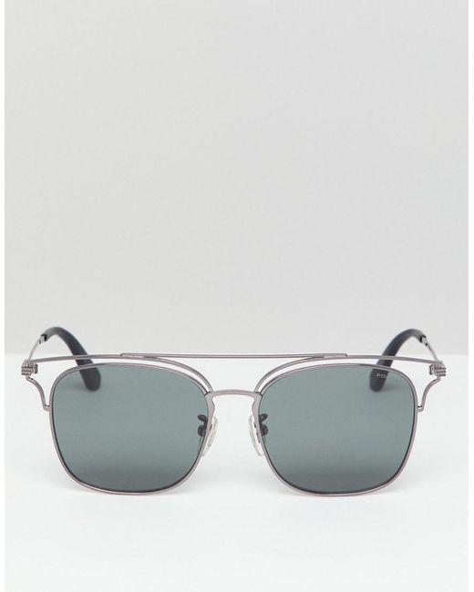 Police Retro Sunglasses In Black in Black for Men - Lyst 01c363c3e0