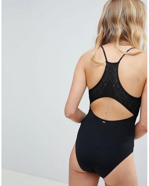 RIP CURL Donna Bikini Beach Bazaar HI NECK