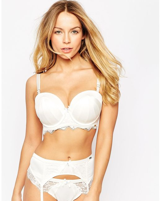 Ultimo ivory roulette bridal multiway bra