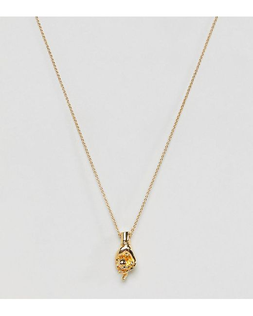 Whistles - Metallic Exclusive Hand Necklace - Lyst