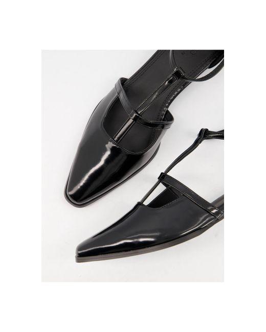 Malay - Chaussures plates à bout pointu ASOS en coloris Black