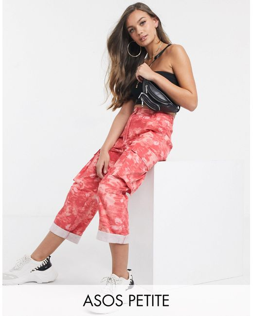 Pantalones militares ASOS de color Pink