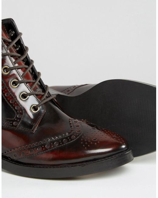 S High Heel Ox Blood Shoes
