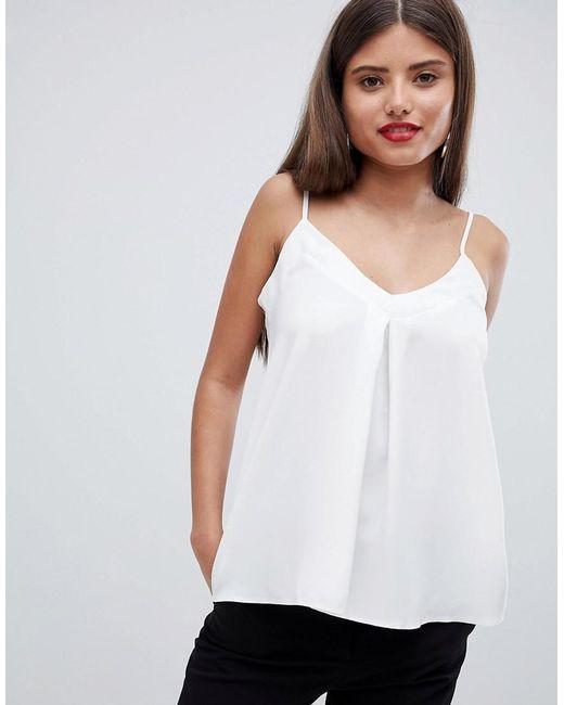 Closet - White Cami Top - Lyst