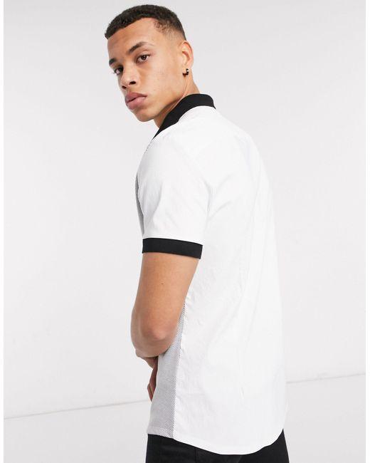 Camisa con detalle River Island de hombre de color White