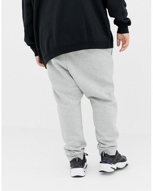 91d4c9d904b2f ... Nike - Gray Tall Cuffed Club Jogger In Grey 804408-063 for Men - Lyst
