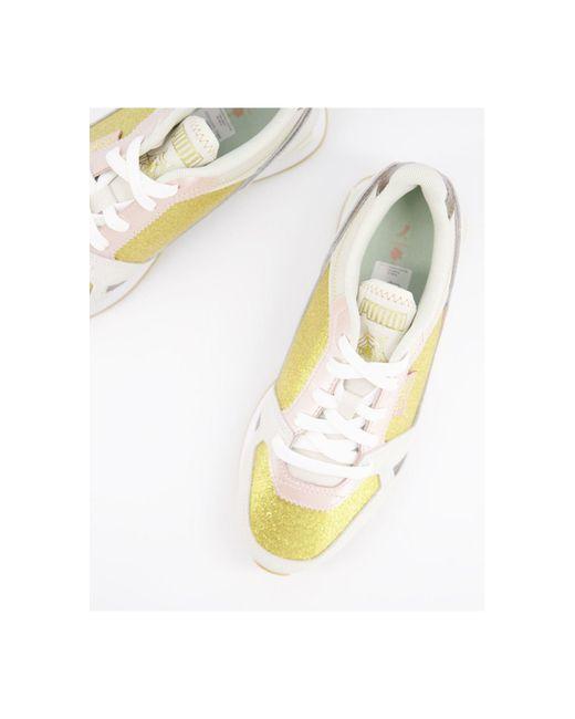 PUMA Multicolor X Charlotte Olympia – Mile Rider – glitzernde Sneaker