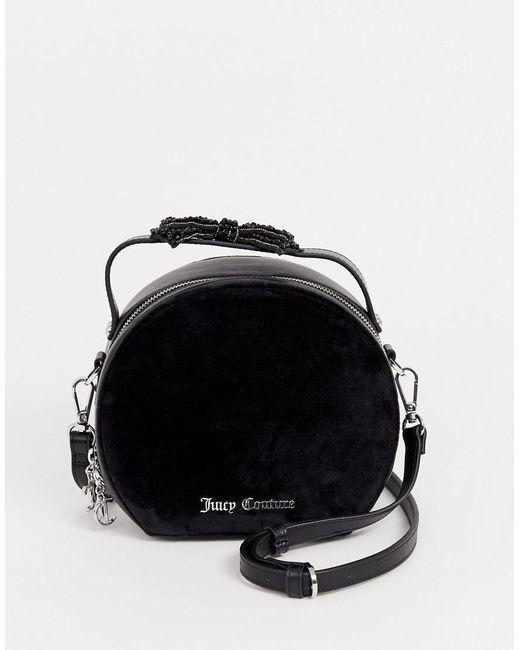 Juicy Couture Black Label - Burnett Circle - Ronde Tas In Zwart