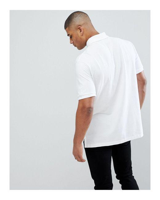 Big & Tall - Polo bianca di Polo Ralph Lauren in White da Uomo