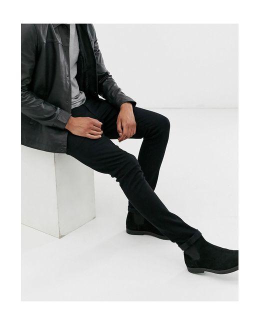 Jean super skinny 12,5 oz ASOS pour homme en coloris Black