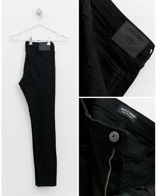 Intelligence - Liam - Jean skinny Jack & Jones pour homme en coloris Black