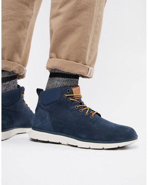 Timberland - Blue Killington Chukka Boots In Navy for Men - Lyst