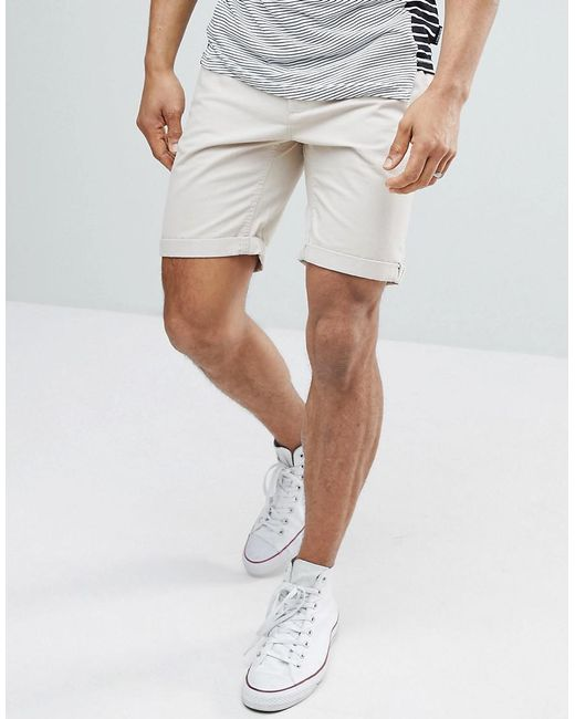 D-Struct - Multicolor Turn Up Chino Shorts for Men - Lyst