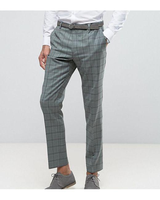 Heart & Dagger   Green Slim Suit Pant In Summer Wedding Check for Men   Lyst