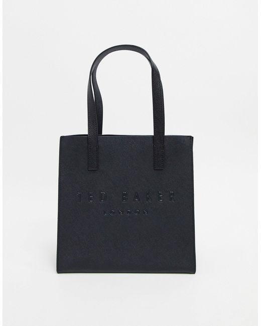 Черная Сумка С Логотипом -черный Ted Baker, цвет: Black