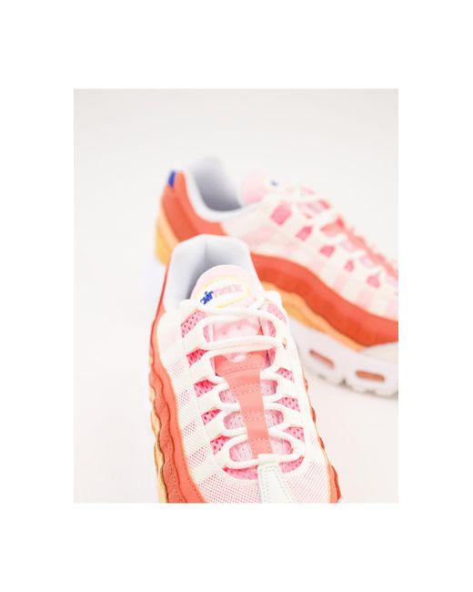 Nike White Air Max 95 Tm Trainers