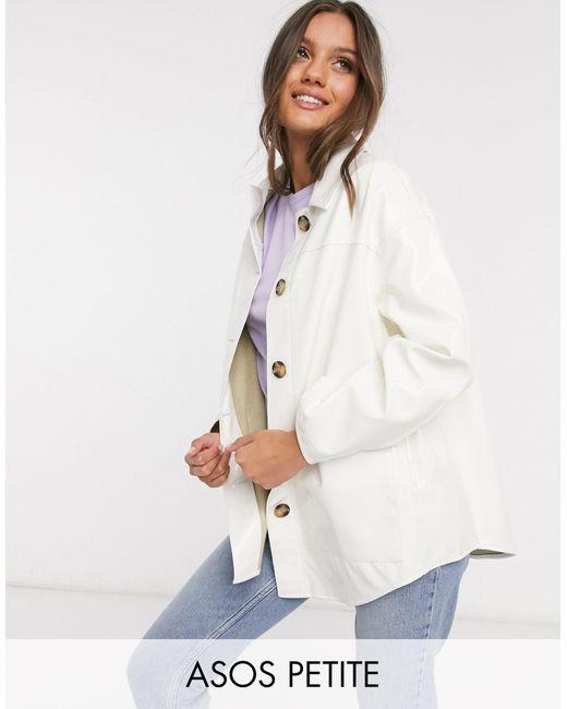 ASOS DESIGN Petite - Camicia giacca di ASOS in Multicolor