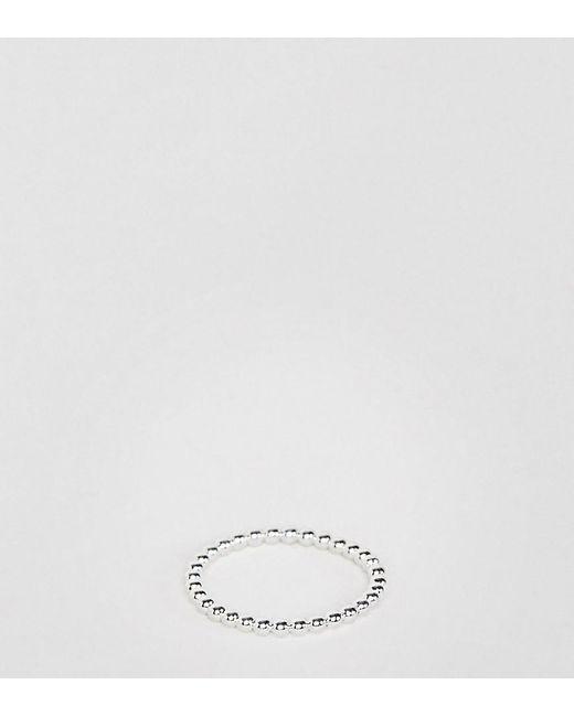 Kingsley Ryan - Metallic Sterling Silver Ball Detail Ring - Lyst