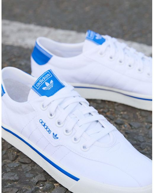 adidas Originals Love Set Super Leather-trimmed Canvas Sneakers in ...
