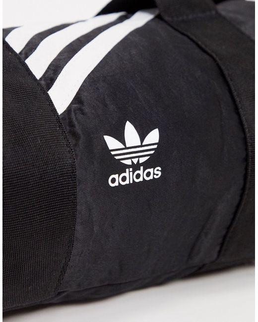 Черная Небольшая Сумка Дафл -черный Adidas Originals, цвет: Black