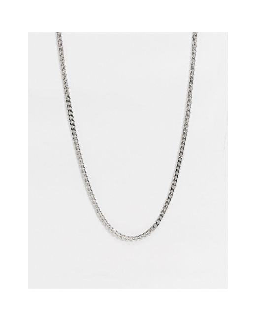Серебристая Цепочка Из Нержавеющей Стали -серебряный Icon Brand для него, цвет: Metallic