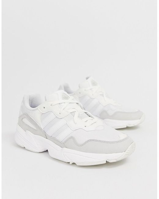 04a99f57982a18 Lyst - adidas Originals Yung-96 Trainers White in White for Men