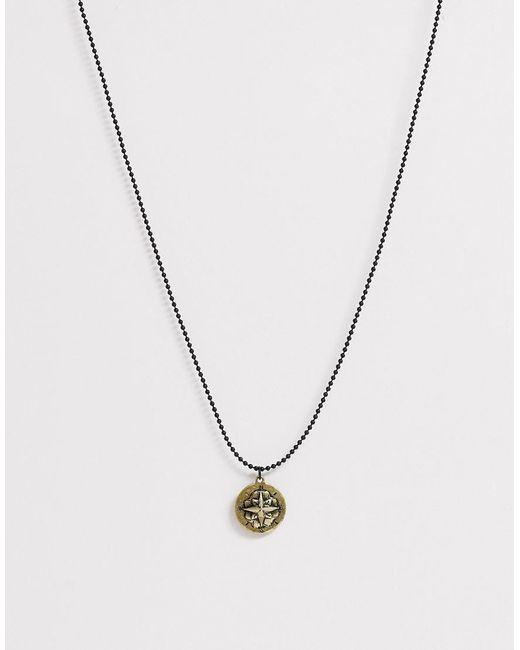 Classics 77 – Halskette mit graviertem Anhänger, in Metallic für Herren