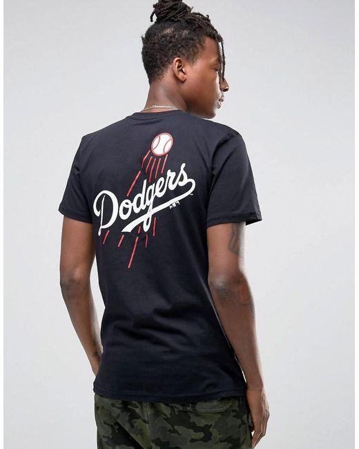 KTZ   Black La Dodgers T-shirt With Back Print for Men   Lyst