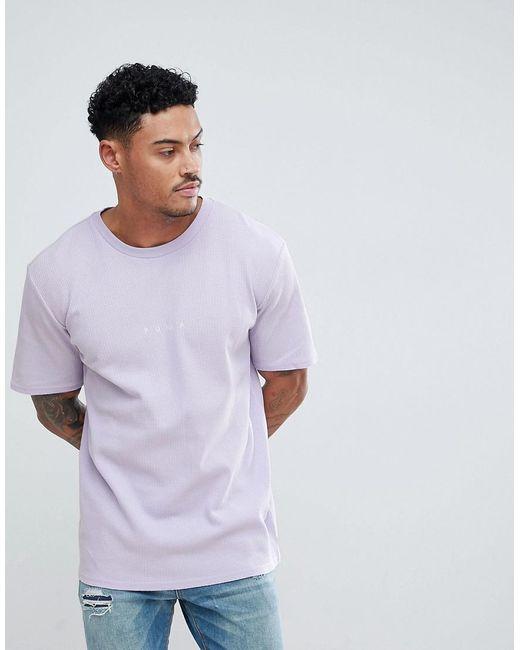 PUMA - Purple Oversized T-shirt for Men - Lyst