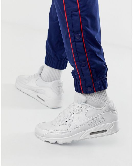 Nike White Air Max 90 Essential Sneakers for men