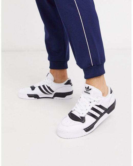 Rivalry - Baskets basses Cuir adidas Originals pour homme en ...