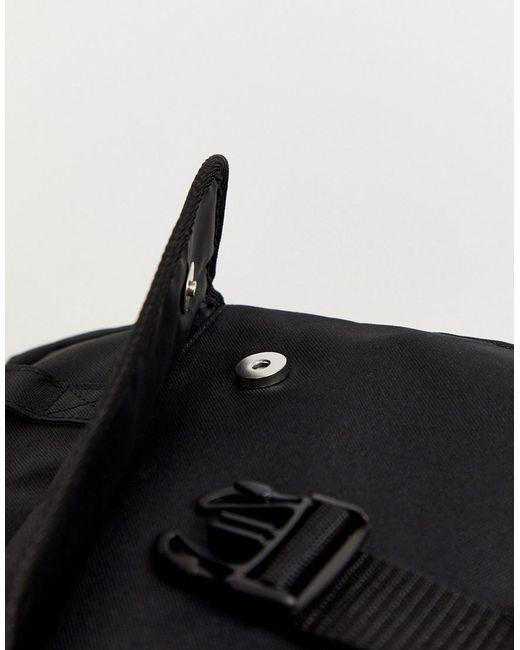 ASOS Black Backpack for men