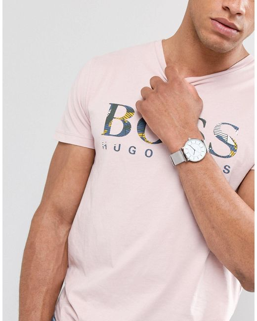 Серебристые Часы С Круглым Белым Циферблатом -серебряный Christin Lars для него, цвет: Multicolor