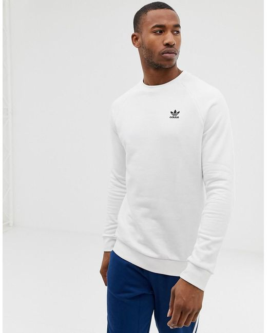 64bfe7a59 adidas-originals-white-Sweatshirt-With-Embroidered-Small-Logo-White.jpeg