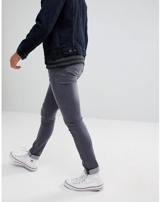 Cheap Sale Sneakernews Cheap Sale Discounts Super Skinny Spray on Jeans in Charcoal Grey - Grey Wåven Free Shipping Amazon Professional Cheap Online Shopping Online MtdAiVRTpH