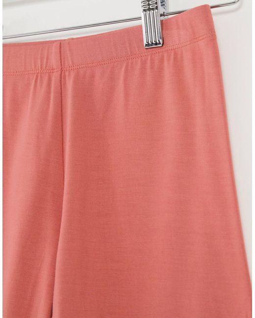 Терракотовые Шорты-леггинсы ASOS, цвет: Pink