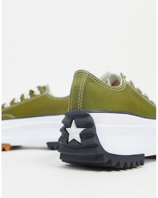 Зеленые Кроссовки Run Star Hike Ox-зеленый Converse, цвет: Green