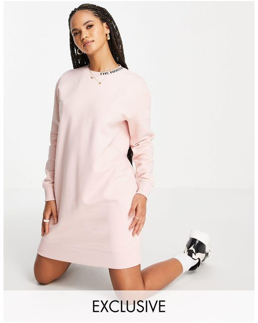 The North Face Pink Zumu Sweater Dress