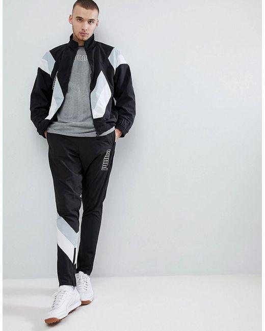 ... PUMA | Heritage Jacket In Black 57500201 for Men | Lyst