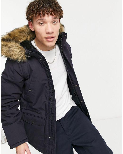 Куртка-парка Trapper-темно-синий Carhartt WIP для него, цвет: Blue