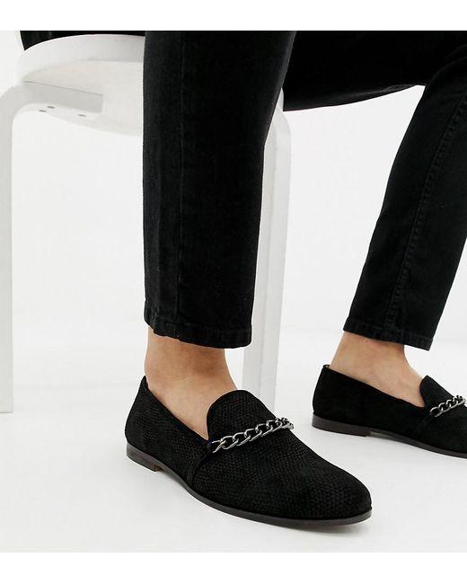 House Of Hounds - Black Styx - Loafer aus schwarzem Brokat in weiter Passform for Men - Lyst