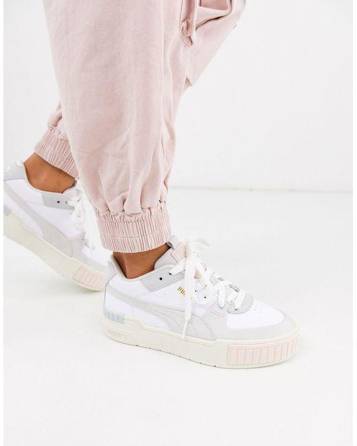 Кроссовки Пастельной Расцветки На Массивной Подошве Cali Sport-белый PUMA, цвет: White